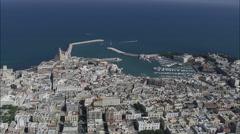 Trani aerial Stock Footage