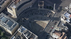 Lecce Roman Arena Stock Footage