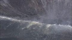 Isola Vulcano Stock Footage