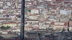 Palermo aerial Stock Footage