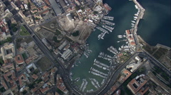 Palermo Docks Stock Footage