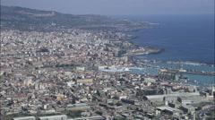 Catania aerial Stock Footage