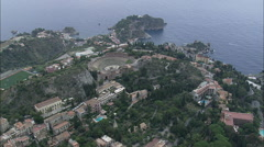 Roman Theatre At Taormina Stock Footage