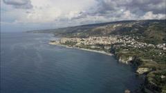 Tropea aerial Stock Footage