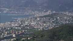 Passing Salerno Stock Footage