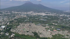 Pompeii In Afternoon Light Stock Footage
