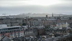 View from Edinburgh castle, Scotland - stock photo