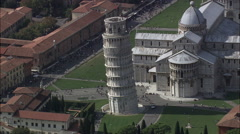 The Leaning Tower Of Pisa Stock Footage