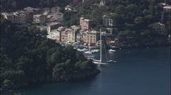 Portofino Harbour Stock Footage