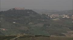 Castello Di Montalto Pavese Stock Footage