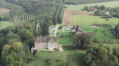 Chateau Possibly Near Auxonne Stock Footage