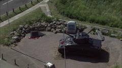 Slapton Sands And Torcross Stock Footage