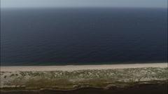 Chesil Beach - stock footage