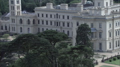 Osborne House On Isle Of Wight Stock Footage
