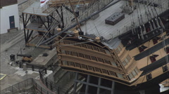 Hms Victory Stock Footage