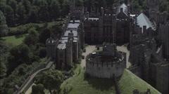 Arundel Castle Stock Footage
