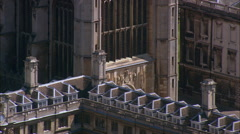 Cambridge - King's College Chapel Stock Footage