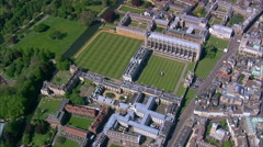 Cambridge - Colleges Stock Footage