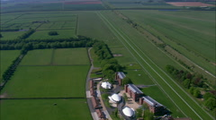 Newmarket Racecourse Stock Footage