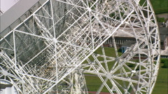 Jodrell Bank Radio Telescope Stock Footage