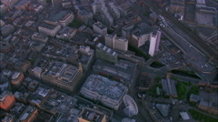 Manchester At Dawn Stock Footage