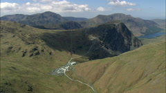 Quarry At Honister Pass Stock Footage