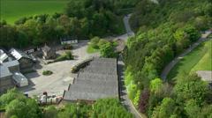 Dailuaine Distillery Stock Footage