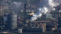 Redcar Steelworks Stock Footage