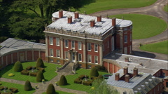 Cottesbrooke Hall Stock Footage