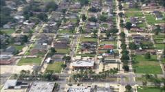 Empty Plots Due To Hurricane Katrina Damage Stock Footage