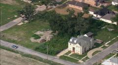 Empty Plots Due To Hurricane Katrina Damage - stock footage