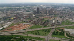 Oklahoma City aerial Stock Footage