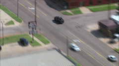 Guthrie aerial Stock Footage