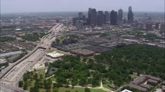 The High Rise Blocks Of Dallas Stock Footage