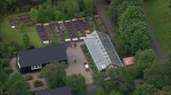 Akureyri aerial Stock Footage