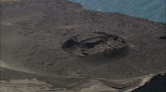 Craters On Surtsey Stock Footage