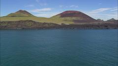 Eldfell Volcano Stock Footage