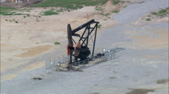 Landscape Of Oil Stock Footage