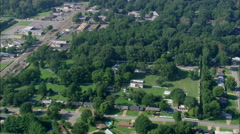 Graceland aerial Stock Footage