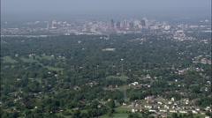Nashville aerial Stock Footage