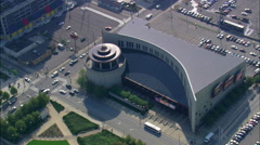 Country Music Hall Of Fame And Museum Stock Footage