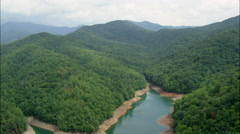 Fontana Lake Stock Footage