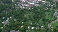Lexington Cemetery And Stonewall Jackson Statue Stock Footage