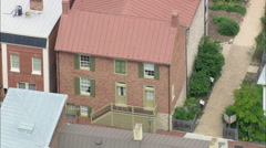 Stonewall Jackson House Stock Footage