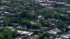 Church Hill Suburbs Stock Footage
