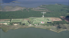 Peninsula In Hog Island Bay Stock Footage