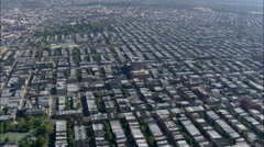 Queens aerial Stock Footage