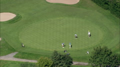 Southampton Golf Course Stock Footage