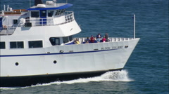 Block Island Ferry Stock Footage