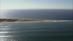 Northern Tip Of Block Island Stock Footage